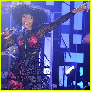 Nicki Minaj Sees Right Thru Jimmy Kimmel