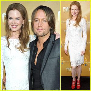 Nicole Kidman: CMA Awards with Keith Urban!