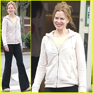 Nicole Kidman: Shopping with the In-Laws!