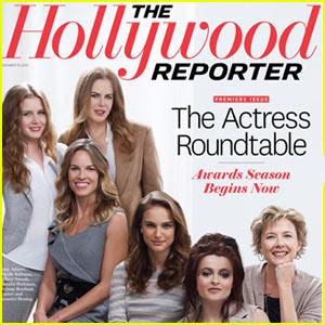 Nicole Kidman & Natalie Portman Cover The Hollywood Reporter!