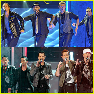 NKOTBSB's AMAs Performance Video -- Watch Now!