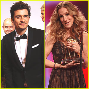 Orlando Bloom: Bambi Awards with Sarah Jessica Parker!