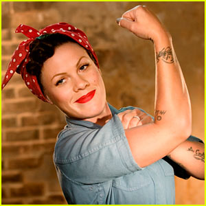 Pink: 'Raise Your Glass' Video Premiere!