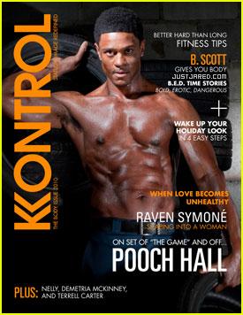 Pooch Hall Covers 'Kontrol' Magazine