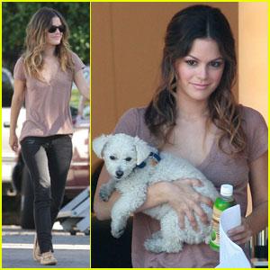 Rachel Bilson: 'BFF, Baby' & Puppy!