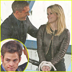 Reese Witherspoon: All Tied Up with Tom Hardy & Chris Pine