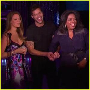 Ricky Martin: 'Oprah' Performance with Joss Stone!