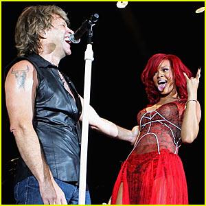 Rihanna & Bon Jovi: Livin' On A Prayer Duet!