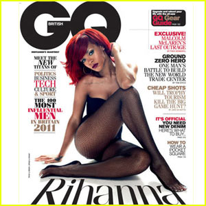 Rihanna Covers 'British GQ' January 2011