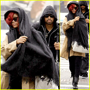 Rihanna: London Departure with Matt Kemp