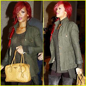 Rihanna & Matt Kemp: Milan Mates