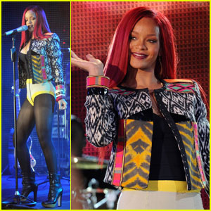 Rihanna Rocks Out on MTV's 'The Seven'