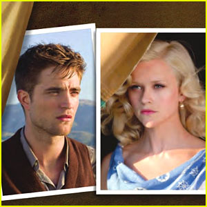 Robert Pattinson &#038; Reese Witherspoon: 'Water For Elephants' First Look!