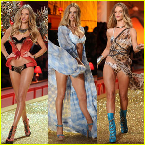 Rosie Huntington-Whiteley: Wings for VS Fashion Show!