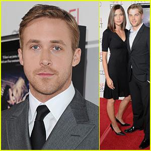 Ryan Gosling: AFI Fest with Mike Vogel!