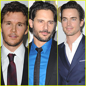 Ryan Kwanten, Channing Tatum & Matt Bomer: GQ Party!