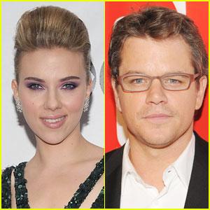 Scarlett Johansson & Matt Damon 'Buy A Zoo'