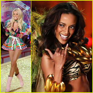 Selita Ebanks &#038; Jessica Stam: Victoria's Secret Runway Duo