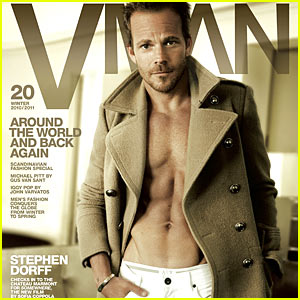Stephen Dorff: Shirtless VMan!