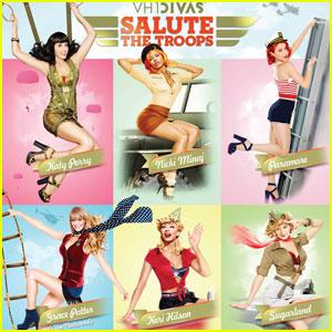 Katy Perry & Nicki Minaj: VH1 Divas Saluting the Troops!