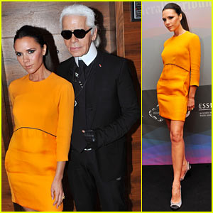 Victoria Beckham: Luxury Lady with Karl Lagerfeld