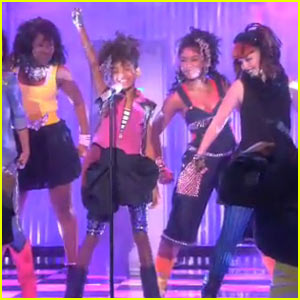Willow Smith's Performance on The Ellen Show -- Watch Now!