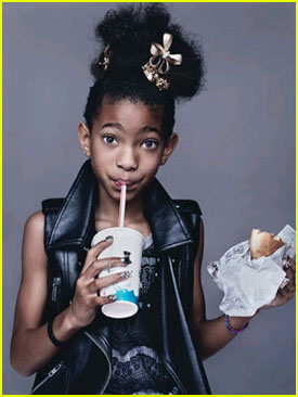 Willow Smith: Mom and Dad Inspired Me to Be A Performer!