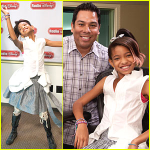 Willow Smith Visits Radio Disney