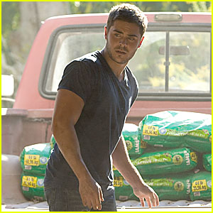 Zac Efron is 'The Lucky One'