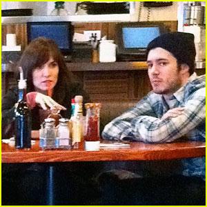 Adam Brody: Lunching with Lorene!
