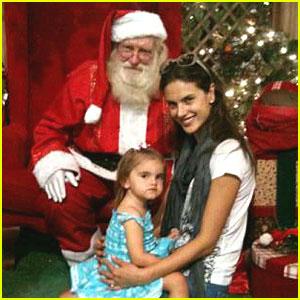 Alessandra Ambrosio: Anja Meets Santa!