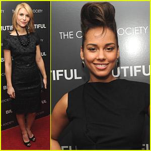 Alicia Keys & Claire Danes Are 'Biutiful'