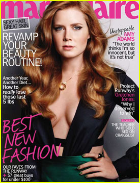 Amy Adams Covers 'Marie Claire' January 2011