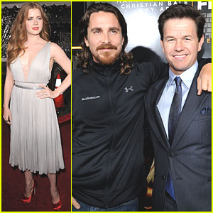 Amy Adams & Christian Bale: 'Fighter' Premiere!