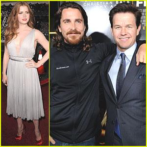Amy Adams & Christian Bale: 'Fighter' Premiere!