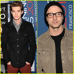 Andrew Garfield & Justin Timberlake: 'Social Network' Screening