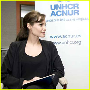 Angelina Jolie Celebrates UNHCR's 60th Anniversary