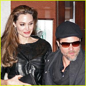 Angelina Jolie & Brad Pitt: Guy Savoy Dinner Date