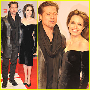 Angelina Jolie: Berlin 'Tourist' Premiere with Brad Pitt!