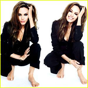 Angelina Jolie: 'Tatler Russia' January 2011 Feature!