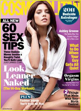 Ashley Greene Covers 'Cosmopolitan' January 2011