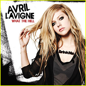 Avril Lavigne: 'What The Hell' Single Cover!