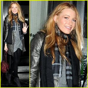 Blake Lively: 'Blue Valentine' Premiere Back Door!