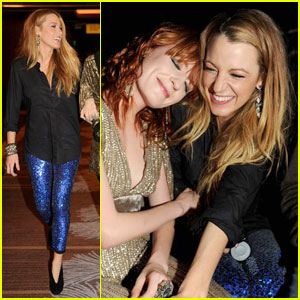 Blake Lively & Florence Welch: Marquee Buddies!
