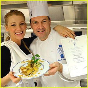 Blake Lively: Le Cordon Bleu Workshop!