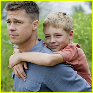 Brad Pitt in 'The Tree of Life' - FIRST LOOK!