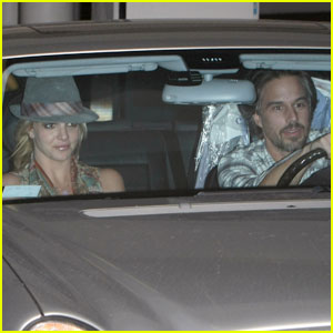 Britney Spears & Jason Trawick Show a United Front