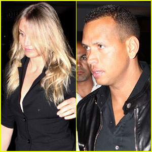 Cameron Diaz & Alex Rodriguez Meet in Miami