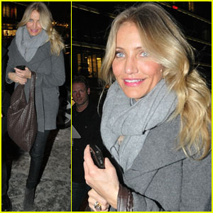 Cameron Diaz: Bundled Up in Berlin!