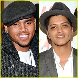 Chris Brown & Bruno Mars: Duet in the Works!